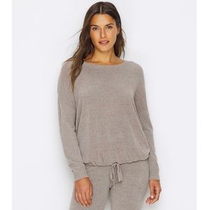 NWOT Barefoot Dreams CozyChic Slouchy Sweater